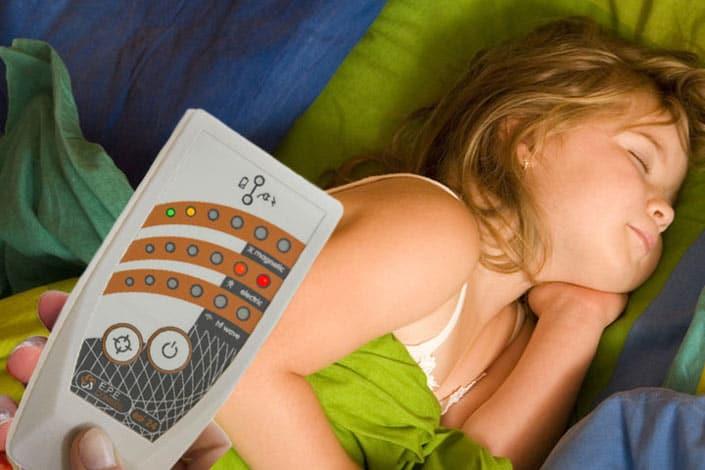 Elektrosmogmessung beim Kinderbett