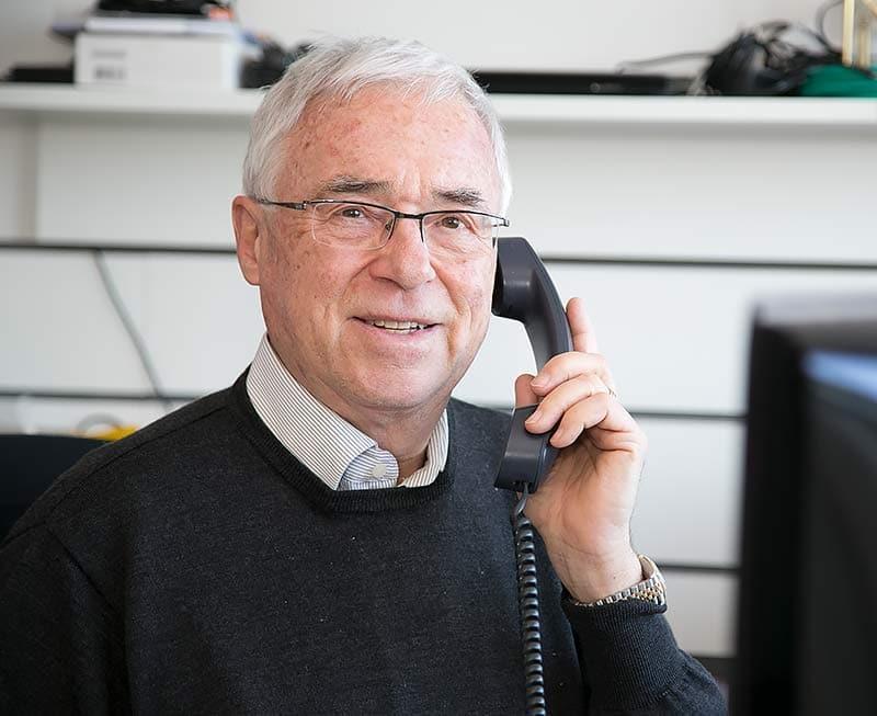 IBES-Präsident Josef Peter