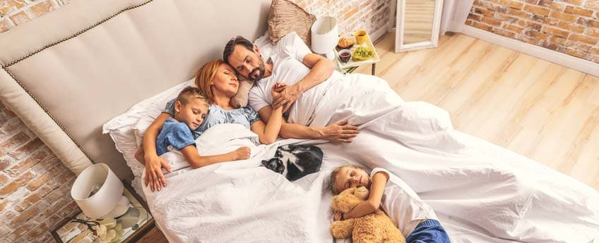 Schlafzimmer vor elektromagnetischer Strahlung schützen