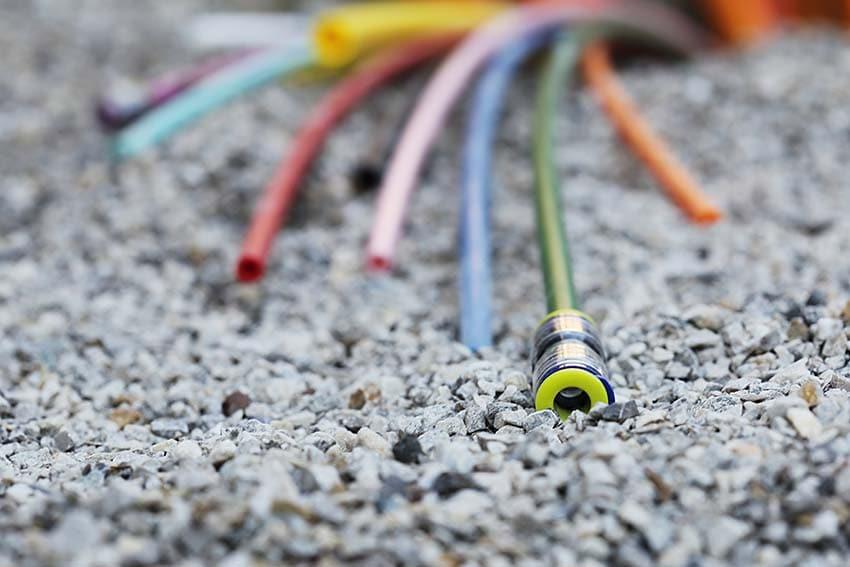 Glasfaserkabel erzeugen Elektrosmog