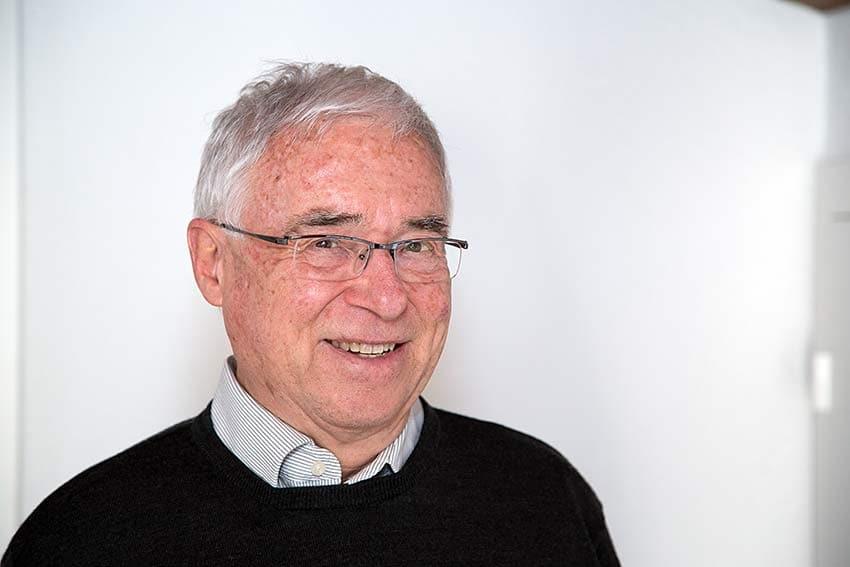 Porträt Josef Peter, Eidg. dipl. Elektroinstallateur und IBES-Stiftungsratspräsident