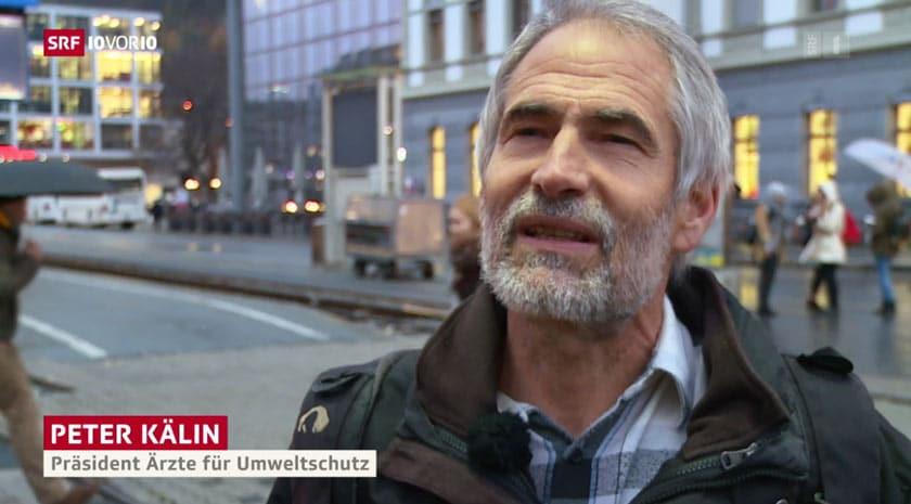 5G könnte Krebs fördern: Dr. med. Peter Kälin, Präsident der Ärztinnen und Ärzte für Umweltschutz