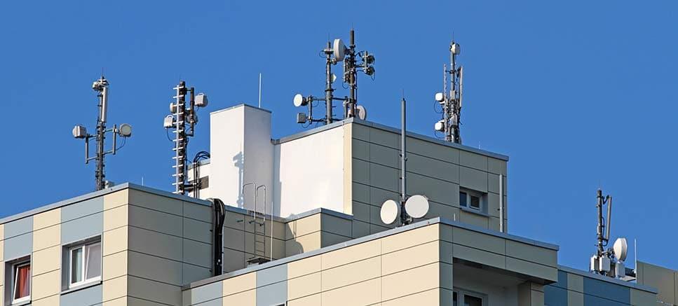 Elektrosmog durch Mobilfunkantennen