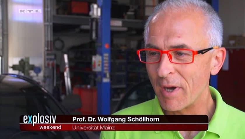 Prof. Dr. Wolfgang Schoellhorn von der Universität Mainz