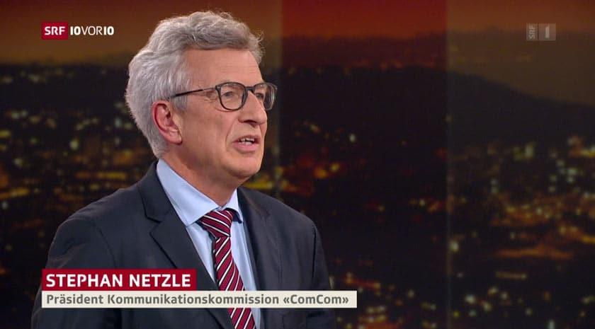 Stephan Netzle, Comcom-Präsident zum Thema 5G