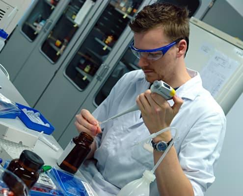 Studien zu Elektrosmog im Labor