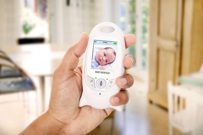 Babyphone mit Monitor verbreitet Elektrosmog