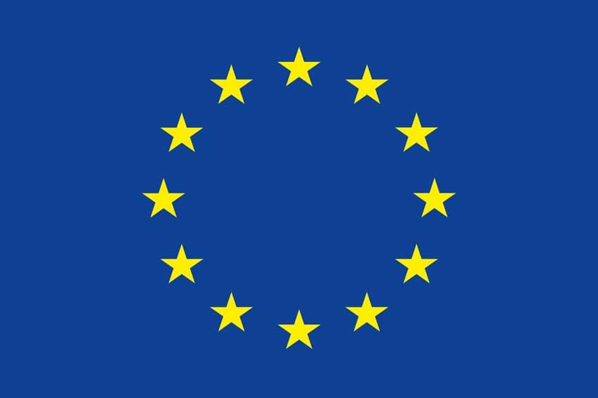 Logo Europäische Gemeinschaft EU