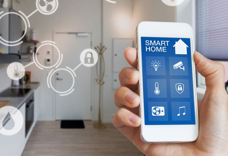 Smart-Home steuern übers Handy-App
