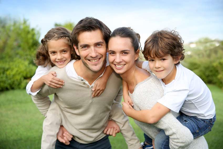 Familie mit Kindern sollen geschützt werden