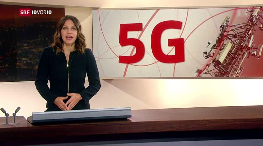 10vor10 Bericht über Mobilfunkstandard 5G