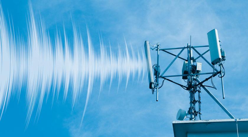 Gefahr durch 5G Antennen auf einem Dach